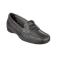Cotswold - Grey 'Cotes' moccasins