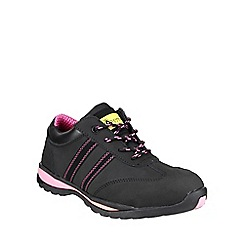 Amblers Safety - Black 'FS47' safety shoes