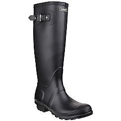 Cotswold - Black 'Sandringham' wellington boots