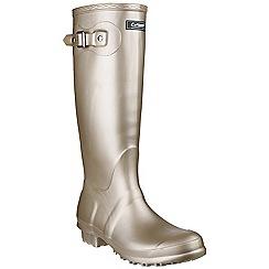 Cotswold - Gold 'Sandringham' wellington boots