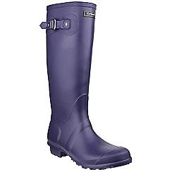 Cotswold - Purple 'Sandringham' wellington boots