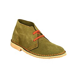 Cotswold - Khaki 'Ashley' lace up desert boots