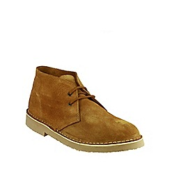 Cotswold - Taupe 'Sahara' desert boot