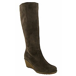 Cotswold - Brown 'Bladon' knee high boots