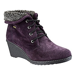 Cotswold - Purple 'Batsford' ankle boots