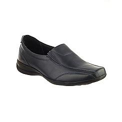 Amblers - Navy 'Merton' slip on shoes
