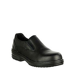 Amblers Safety - Black 'FS94C' safety shoes