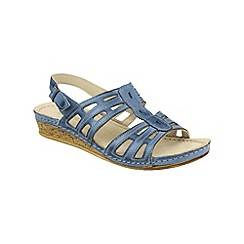 Cotswold - Denim 'Guiting' summer shoes