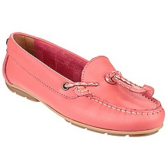 Riva - Coral 'Gorda' leather shoes