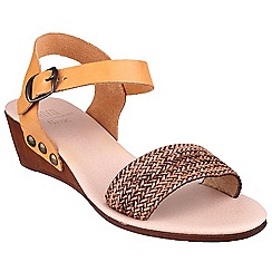 Riva - Brown 'Barbados' leather sandals