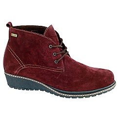 Cotswold - Bordo 'Prinknash' ankle boots