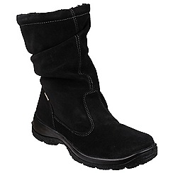 Cotswold - Black 'Brockworth' calf high boots