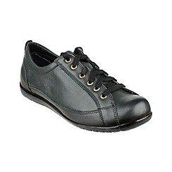 Cotswold - Green 'Tidmington' lace up shoes