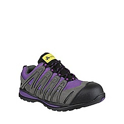 Amblers Safety - Purple 'FS108C' safety trainers