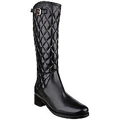 Riva - Black 'Drama' tall boots