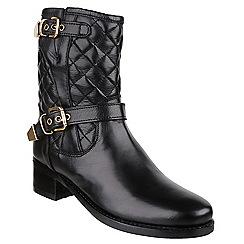 Riva - Black 'Elegy' boots