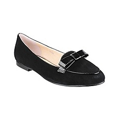 Riva - Black 'Bobbin' shoes