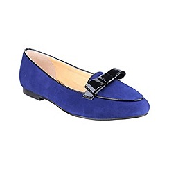 Riva - Blue 'Bobbin' shoes
