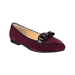 Riva - Wine 'Bobbin' shoes