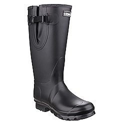 Cotswold - Black 'Kew neoprene' wellington boots