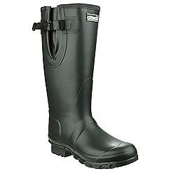 Cotswold - Olive 'Kew neoprene' wellington boots