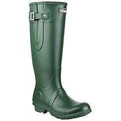 Cotswold - Green 'Windsor' womens wellington boots