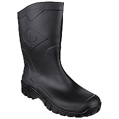 Dunlop - Black 'Dee Calf' wellington boot