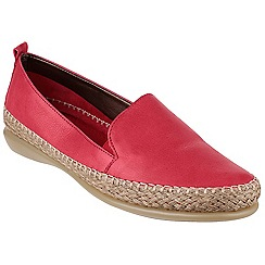 The Flexx - Red 'Raphael' leather loafer