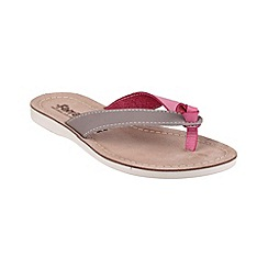 Fantasy - Grey/pink 'Kos' sandals