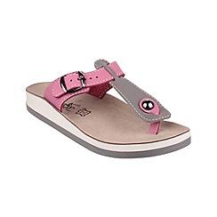 Fantasy - Grey/pink 'Krios' sandals