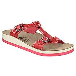 Fantasy - Red 'Arillas' sandals