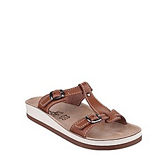 Fantasy - Tan 'Arillas' sandals