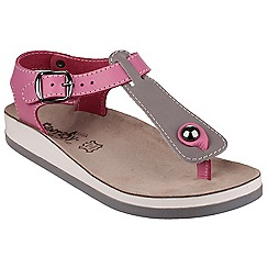 Fantasy - Grey/pink 'Zante' sandals
