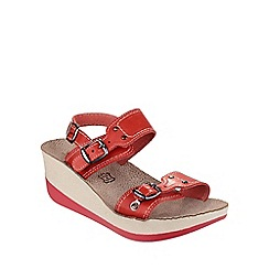 Fantasy - Red 'Mykonos' sandals
