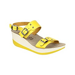 Fantasy - Yellow 'Mykonos' sandals
