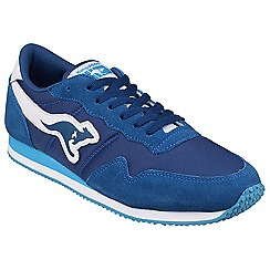 Kangaroos - Royal 'Invader Basic' womens trainer