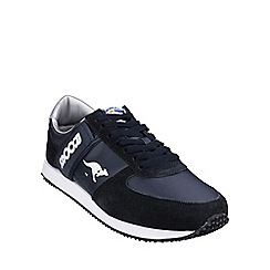 Kangaroos - Navy/white 'Combat' womens trainers