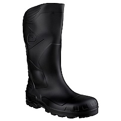 Dunlop - Black 'Devon' wellington boot
