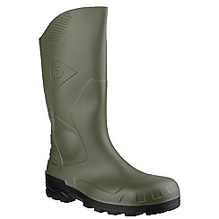 Dunlop - Grn/bl 'Devon' wellington boot