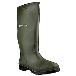 Dunlop - Green 'Pricemastor' wellington boot