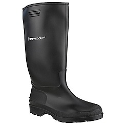 Dunlop - Black 'Pricemastor' wellington boot