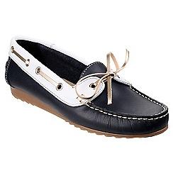 Riva - Nvy/wh 'Spoleto' boat shoes
