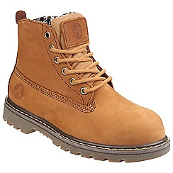Amblers Safety - Tobacco 'FS103' womens safety boots