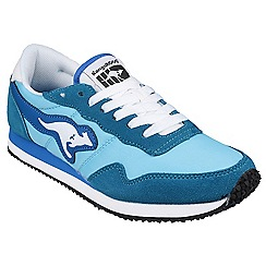 Kangaroos - Light blue 'Invader Basic' womens trainer