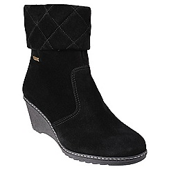 Cotswold - Black 'Cornwell' ankle boots