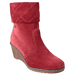 Cotswold - Red 'Cornwell' ankle boots