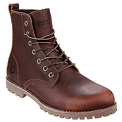 Cotswold - Brown 'Elm' Leather boot
