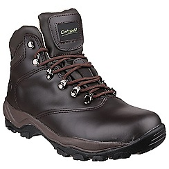 Cotswold - Brown 'Winstone' womens leather hiking boots