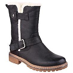 Divaz - Black 'Nardo' buckle boots
