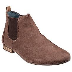 Divaz - Taupe 'Pisa' chelsea boots